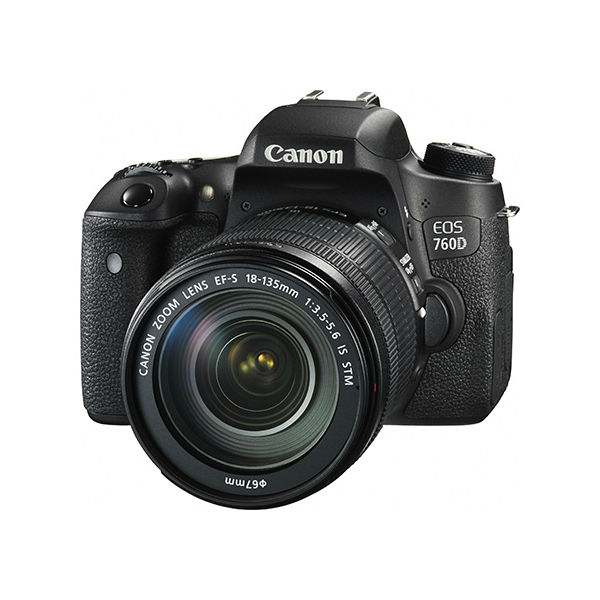 【CANON 佳能】EOS 760D (EF-S 18-135 IS STM) 單眼相機