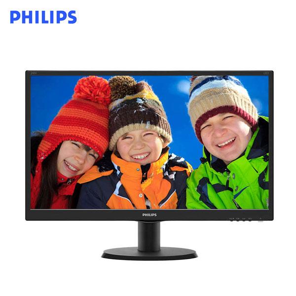 【福利品】PHILIPS 飛利浦 24型 240V5QDAB (2組-10項)(寬)螢幕顯示器