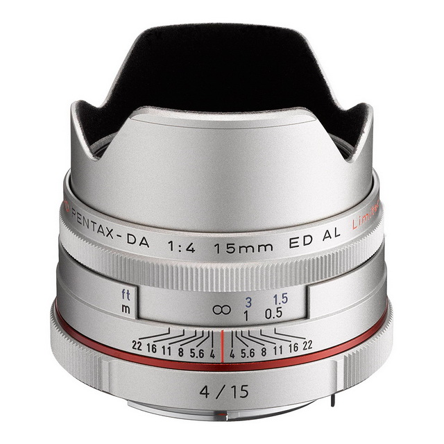 【Pentax 賓得士】HD DA 15mm F4 ED AL Limited(公司貨)
