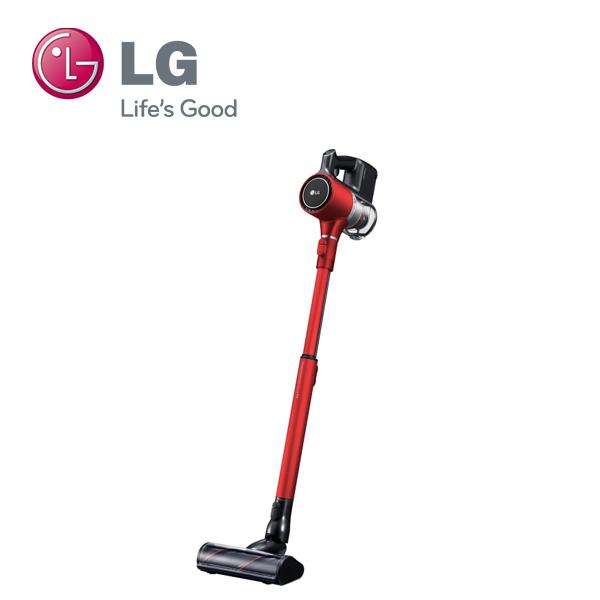 【福利品】LG樂金 A9PBED2R (紅) 直立式手持無線吸塵器
