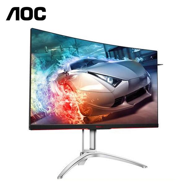 【福利品】AOC艾德蒙 32型 AGON AG322QC4 (曲面)(黑)(寬)螢幕顯示器