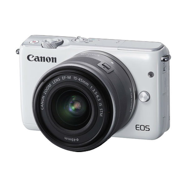 【CANON 佳能】Canon EOS M10 單鏡(EF-M 15-45mm IS STM)