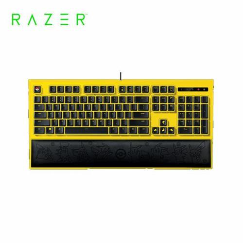 雷蛇Razer Pikachu 皮卡丘限定款 電競背光鍵盤
