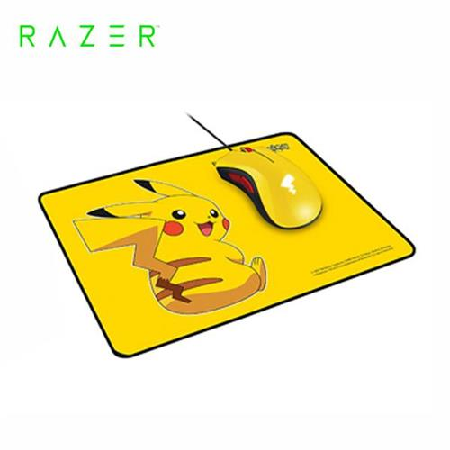 雷蛇Razer Pikachu 皮卡丘限定款 電競滑鼠+滑鼠墊套裝