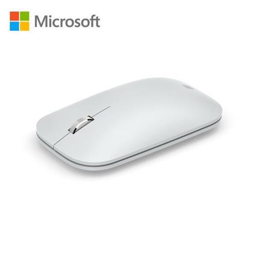 微軟 時尚行動滑鼠(月光灰)