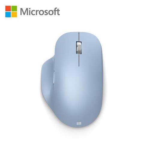 微軟 藍牙人體工學滑鼠(粉彩藍)