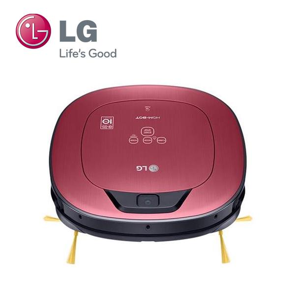 【福利品】LG樂金 VR66713LVM (桃紅) WIFI 變頻 雙眼小精靈 清潔機器人