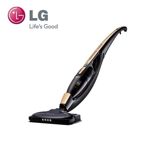 【福利品】LG 樂金 VS8605SWM (金) 直立式無線吸塵器_濕拖版
