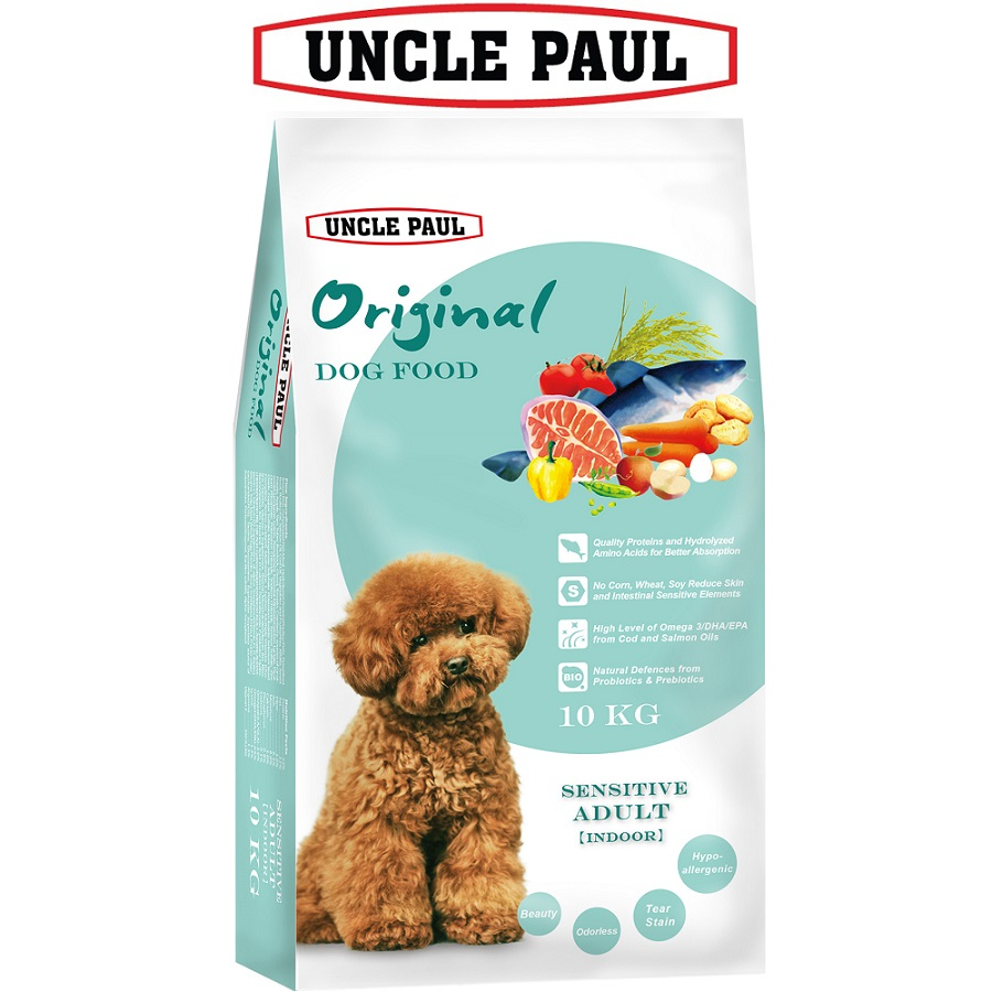 【UNCLE PAUL 保羅叔叔】田園生機狗食-低敏犬/室內犬10KG