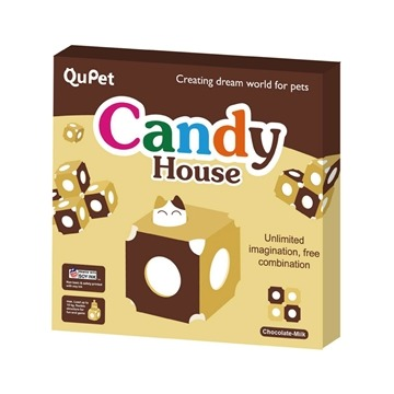 【QuPet】**Candy House 糖果屋**巧克力牛奶*1入