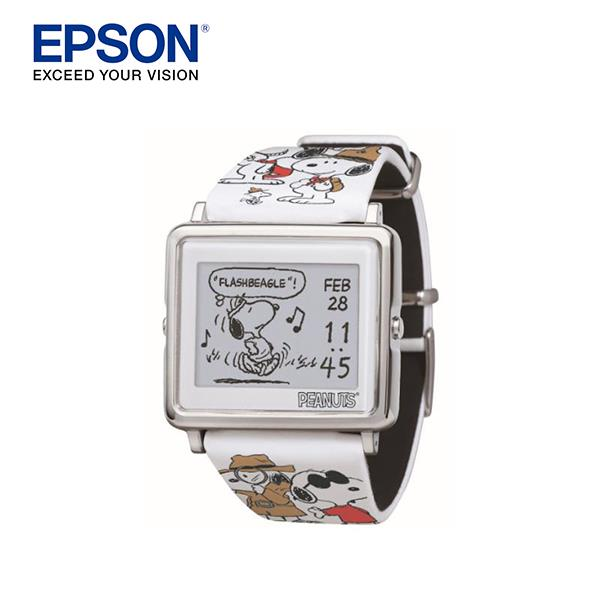 【EPSON 愛普生】Smart Canvas Many Face of Snoopy (百變史努比)手錶