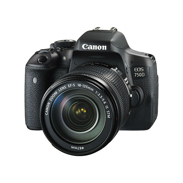 【CANON 佳能】EOS 750D (EF-S 18-135 IS STM) 單眼相機
